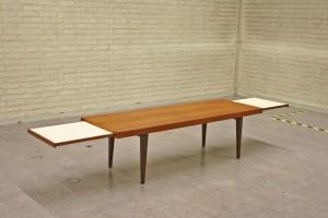 Uitschuifbare salontafel