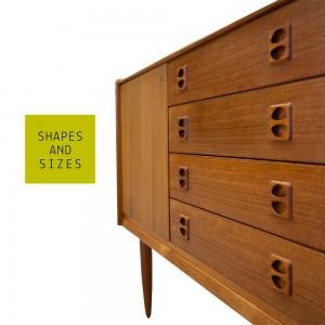 Shapes and Sizes vintage design