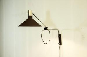 Vintage Anvia (atr.) wandlamp