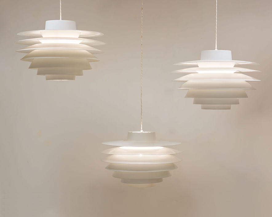 Nordisk Solar 'Verona' pendant lights – Sven Middelboe