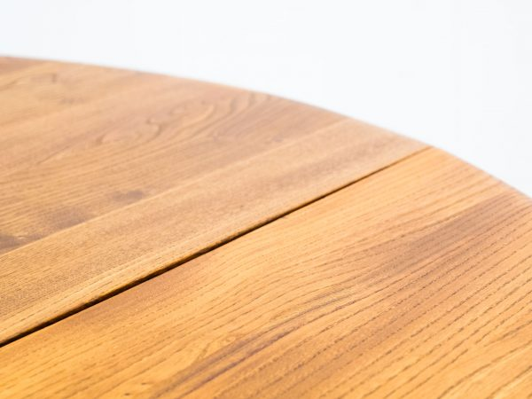 ERCOL 'MODEL 384' DROP LEAF DINING TABLE - RANDOLPH LUCIAN ERCOLANI