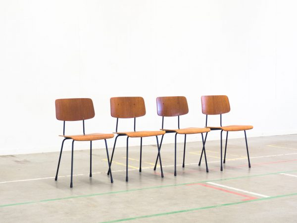 GISPEN 'MODEL 1262' DINING CHAIRS - ANDRÉ CORDEMEYER