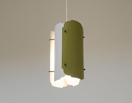 Vintage Danish pendant light