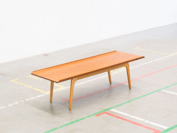 BOVENKAMP XL TEAK AND OAK COFFEE TABLE - AKSEL BENDER MADSEN