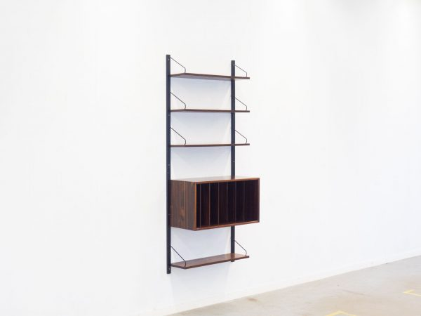 ROYAL SYSTEM ROSEWOOD WALL UNIT - POUL CADOVIUS