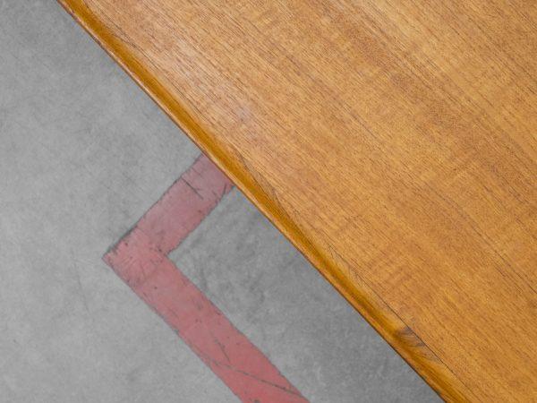 BOVENKAMP TEAK AND OAK COFFEE TABLE - AKSEL BENDEN MADSEN