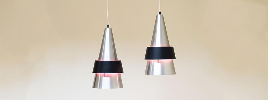 Fog & Mørup pair of 'Corona' pendants – Jo Hammerborg