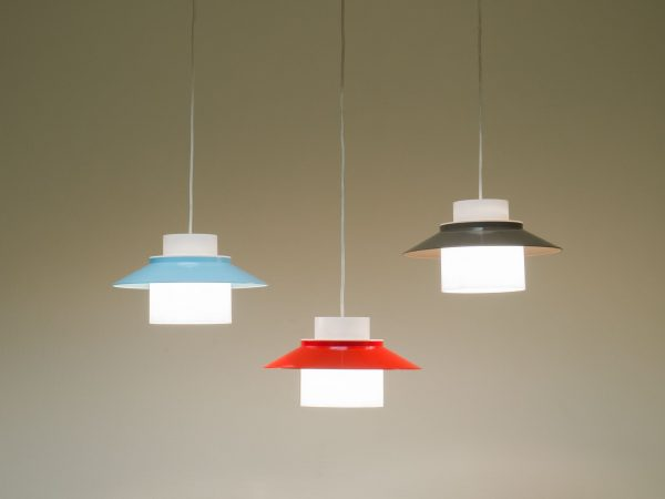 LYFA TRIO OF 'DINETTE' PENDANT LIGHTS - BENT KARLBY