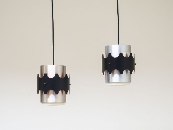 PAIR OF DANISH VINTAGE PENDANT LIGHTS
