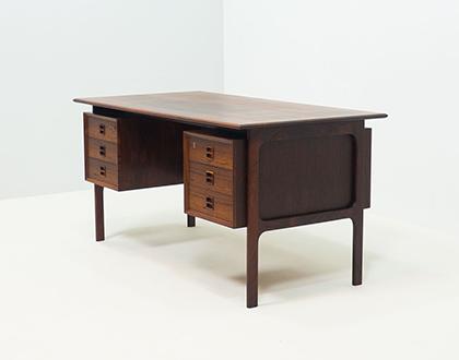 Brouer Møbelfabrik free standing rosewood desk