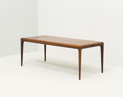 CFC Silkeborg extendable rosewood coffee table – Johannes Andersen