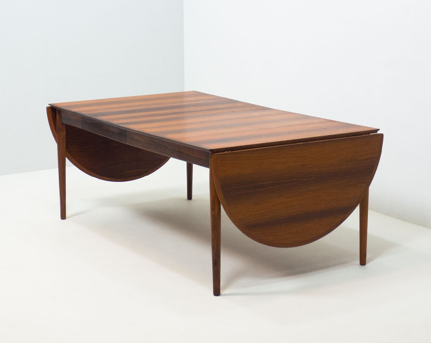 Sibast Møbler 'model 227' extendable rosewood dining table – Arne Vodder