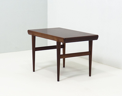 CFC Silkeborg rosewood side table – Johannes Andersen