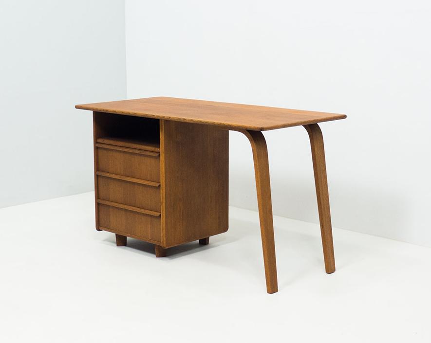Pastoe 'EE02' Birch Series desk – Cees Braakman