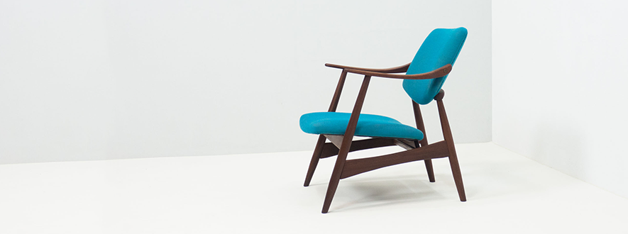 Wébé lounge chair – Louis van Teeffelen