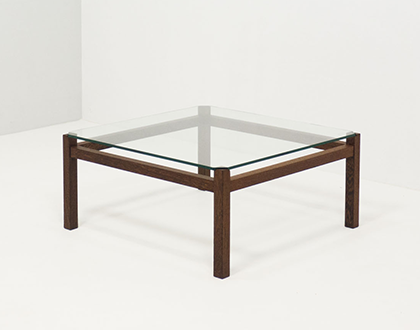 Spectrum 'TZ41' wengé coffee table – Kho Liang Ie