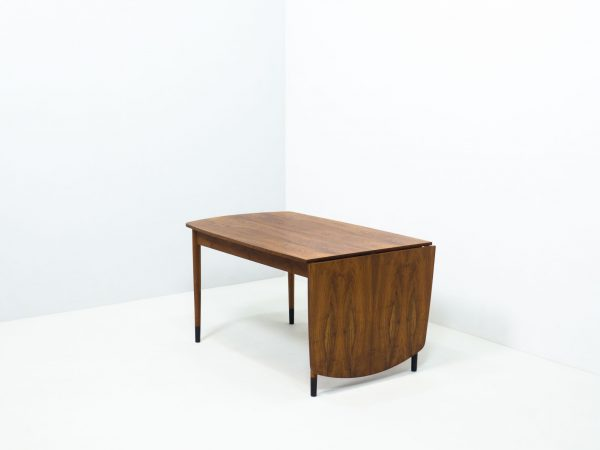 VINTAGE WALNUT DROP LEAF TABLE