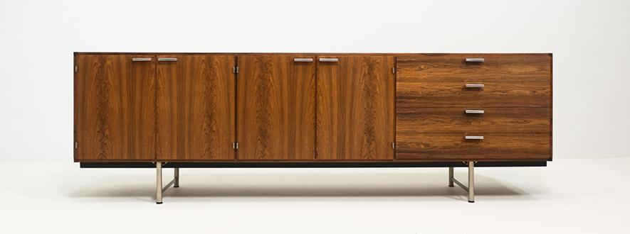 Pastoe 'DR 83' rosewood sideboard – Cees Braakman