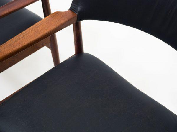 SORØ STOLEFABRIK ROSEWOOD SET OF ARM CHAIRS - ERIK WØRTS