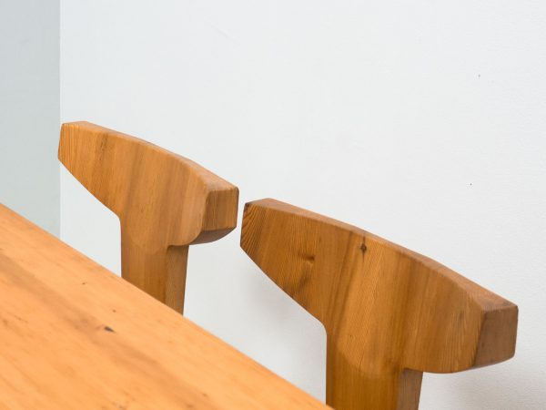 I. CHRISTIANSEN PINE DINING SET - JACOB KIELLAND-BRANDT