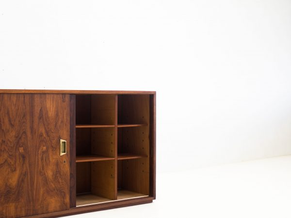 VINTAGE TWO WAY ROSEWOOD CABINET